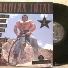 Discos de vinilo: LP MAQUINA TOTAL 4 - (VARIOS) - LP X 2 MAX MUSIC 1992 . Lote 53700132
