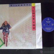 Discos de vinilo: BEBU SILVETTI-DISCO LP-LP1-I LOVE YOU-1980. Lote 53703928