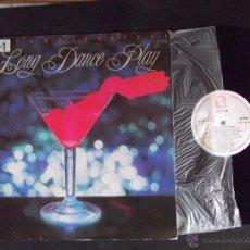 Discos de vinilo: LONG DANCE PLAY-DISCO LP-LP1-EXITOS DISCOTECA-1983. Lote 53703981