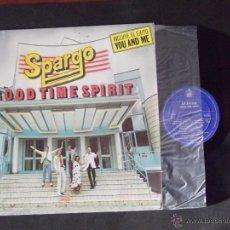 Discos de vinilo: SPARGO-DISCO LP-LP1-GOOD TIME SPIRIT-1980. Lote 53704018