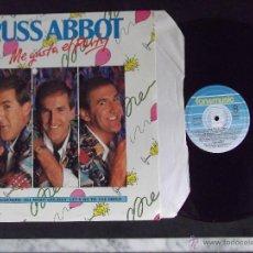 Discos de vinilo: RUSS ABBOT-DISCO LP-LP1-ME GUSTA EL PARTY-1987. Lote 53704124