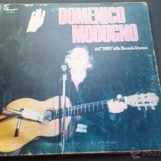 Discos de vinilo: DOMENICO MODUGNO - DAL VIVO ALLA BUSSOLA DOMANI. Lote 53704718
