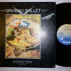 Discos de vinilo: SPANDAU BALLET - SUPERSINGLE 1982 INSTINCTION. Lote 53705433