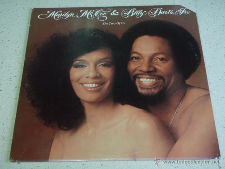 MARILYN MCCOO & BILLY DAVIS JR. ( THE TWO OF US ) NEW YORK-USA 1977 LP33 ABC RECORDS (Música - Discos - LP Vinilo - Funk, Soul y Black Music)