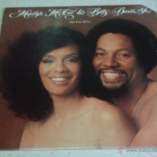 Discos de vinilo: MARILYN MCCOO & BILLY DAVIS JR. ( THE TWO OF US ) NEW YORK-USA 1977 LP33 ABC RECORDS. Lote 53708649