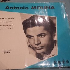 Discos de vinilo: ANTONIO MOLINA EP FRANCIA. Lote 53710731