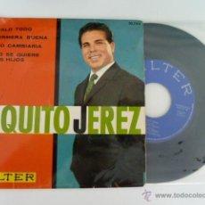 Discos de vinilo: PAQUITO JEREZ TOMALO TODO + 3 SINGLE 45 RPM EDITA BELTER 1963. Lote 53710747