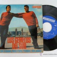 Discos de vinilo: LOS GEMELOS DEL SUR ESPERABA TU LLAMADA SINGLE 45 RPM EDITA VERGARA 1967 . Lote 53710858