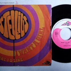 Discos de vinilo: STELLIUS. I WANT A GIRL. SINGLE DISC AZ SG 176. FRANCE. WHAT I'D LIKE. PSYCHEDELIC ROCK.. Lote 53711843