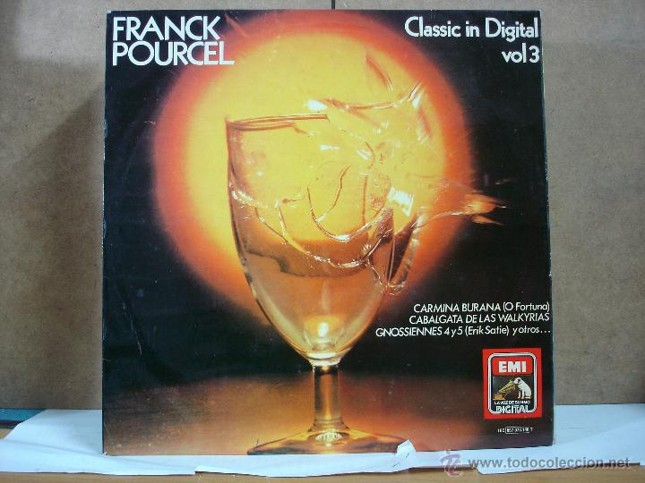 FRANCK POURCEL - CLASSIC IN DIGITAL VOL. 3 - EMI-LA VOZ DE SU AMO 10 C 067-073.148 T - 1982 (Música - Discos - LP Vinilo - Orquestas)
