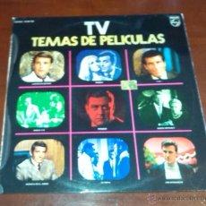 Discos de vinilo: TV - TEMAS DE PELICULAS - VARIOS - LP - 1972.. Lote 53717065