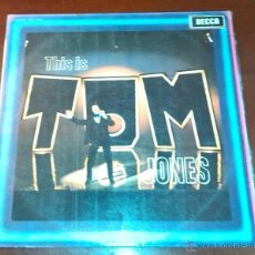 Discos de vinilo: TOM JONES - THIS IS TOM JONES - LP - 1981.. Lote 53717072
