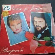 Discos de vinilo: PIMPINELA - LUCIA Y JOAQUIN. Lote 53725473