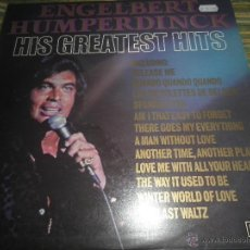 Discos de vinilo: ENGELBERT HUMPERDINCK - HIS GREATEST HITS LP - EDICION INGLESA - DECCA RECORDS 1974 - STEREO -. Lote 53729551