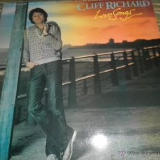 Discos de vinilo: CLIFF RICHARD - LOVE SONGS LP - ORIGINAL INGLES - EMI RECORDS 1981 - STEREO -. Lote 53732230