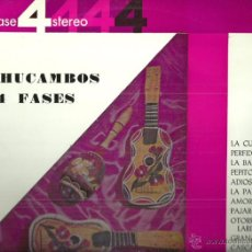 Disques de vinyle: LOS MACHUCAMBOS EN 4 FASES LP SELLO DECCA AÑO 1964 EDITADO EN ESPAÑA . Lote 53735748