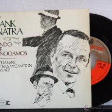 Discos de vinilo: FRANK SINATRA : EL MUNDO QUE CONOCIAMOS + 3 (EP REPRISE 1967). Lote 53741331