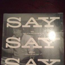 Discos de vinilo: MICHAEL JACKSON & PAUL MCCARTNEY SAY SAY SAY 2015 NEW & SEALED MAXI SINGLE VINYL. Lote 54587743