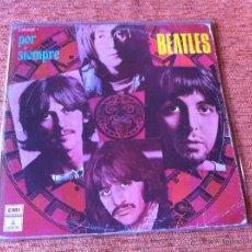 Discos de vinilo: BEATLES - POR SIEMPRE - EMI ODEON J-060-04.973 - ESPAÑA 1971 - DISCO LP VINILO - EXCELENTE. Lote 53749112