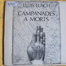 Discos de vinilo: LP - LLUIS LLACH - CAMPANADES A MORTS (SPAIN, MOVIEPLAY 1977). Lote 53749692