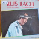 Discos de vinilo: LP - LLUIS LLACH - CAMP DEL BARÇA, 6 DE JULIOL DE 1985 (DOBLE DISCO, SPAIN, ARIOLA 1985). Lote 53749771