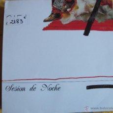 Discos de vinilo: LP - SESION DE NOCHE - MISMO TITULO (SPAIN, A ESCENA RECORDES 1988). Lote 53750197