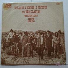 Discos de vinilo: DELANEY & BONNIE (CON ERIC CLAPTON) - COMIN' HOME (VOLVIENDO A CASA) / GROUPIE (SUPERSTAR) (1970). Lote 53752605