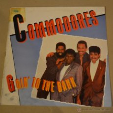 Discos de vinilo: COMMODORES. GOIN'TO THE BANK. POLYDOR 1986. LITERACOMIC.. Lote 53767293