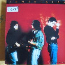 Discos de vinilo: LP - INMEDIATOS - MISMO TITULO (SPAIN, AREA RECREATIVA RECORDS 1991). Lote 53769334