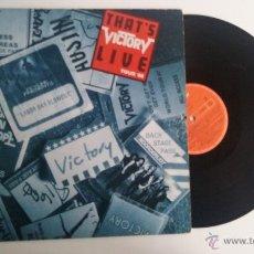 Discos de vinilo: VINILO/DISCO LP/ VICTORY-LIVE TOUR'88.. Lote 53772906