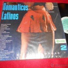 Discos de vinilo: EVERARDO ORDAZ PIANOS Y RITMOS 2 ROMANTICOS LATINOS LP SELLO VERDE VENEZUELA LATIN. Lote 53776288