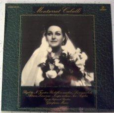 Discos de vinilo: LP . VINILO . MONSERRAT CABALLÉ . COLUMBIA 1974. Lote 53777623