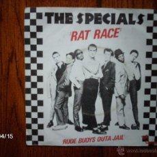 Discos de vinilo: THE SPECIALS - RAT RACE + RUDE BUOYS OUTA JAIL. Lote 53785413