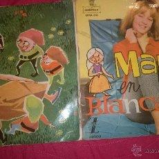 Discos de vinilo: MARISOL EN BLANCANIEVES -DISCO/CUENTO EN VIÑETAS DE PAPEL-1962. Lote 53790511