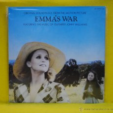 Discos de vinilo: JOHN WILLIAMS - EMMAS WAR - BSO - LP. Lote 53795857