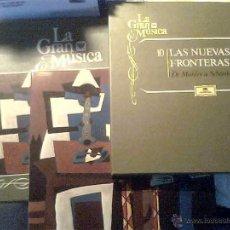 Discos de vinilo: LA GRAN MÚSICA/10: LAS NUEVAS FRONTERAS - DE MAHLER A SCHÖNBERG. Lote 53796660