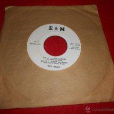 Discos de vinil: TITO MORA LAIA LADAIA/CAMP ALLEGRO/LONLINESS/YA BASTA ASI EP 196? E&M PROMO PARA USA. Lote 53802905