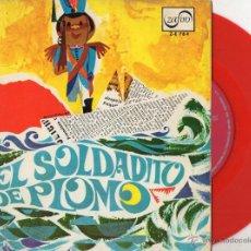 Discos de vinilo: CUENTO DE ANDERSEN - EL SOLDADITO DE PLOMO, EP , EL SOLDADITO DE PLOMO + 1, AÑO 1967. Lote 53806255