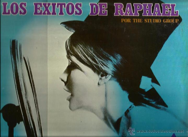 LP THE STUDIO GROUP : LOS EXITOS DE RAPHAEL (Música - Discos - LP Vinilo - Grupos Españoles de los 70 y 80)