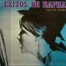 Discos de vinilo: LP THE STUDIO GROUP : LOS EXITOS DE RAPHAEL. Lote 53812963