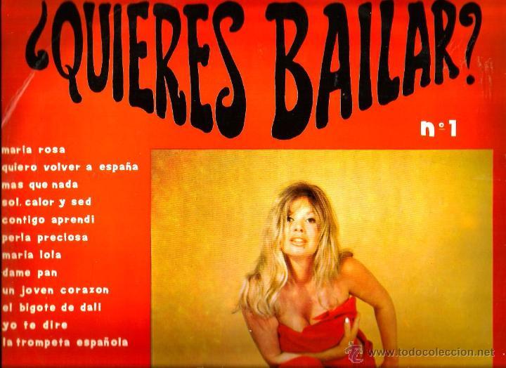 LP ¿QUIERES BAILAR? 1 ( LOS CENITS, LOS DALMATAS, HAWAI SAN REMO, LOS JUNIORS, LOS CORALES, DIANA (Música - Discos - LP Vinilo - Grupos Españoles 50 y 60)