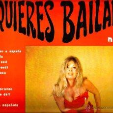 Discos de vinilo: LP ¿QUIERES BAILAR? 1 ( LOS CENITS, LOS DALMATAS, HAWAI SAN REMO, LOS JUNIORS, LOS CORALES, DIANA. Lote 53813952