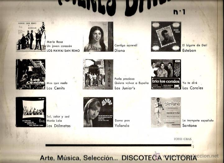 Discos de vinilo: LP ¿QUIERES BAILAR? 1 ( LOS CENITS, LOS DALMATAS, HAWAI SAN REMO, LOS JUNIORS, LOS CORALES, DIANA - Foto 2 - 53813952