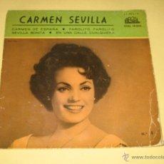 Discos de vinilo: CARMEN SEVILLA - 1959 . Lote 53815084