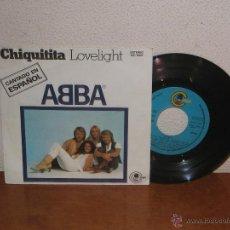 Discos de vinilo: ABBA 7´´ MEGA RARE VINTAGE CANTADO EN ESPAÑOL 1979. Lote 53815580