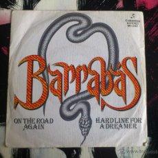 Dischi in vinile: BARRABAS - ON THE ROAD AGAIN - SINGLE - VINILO - COLUMBIA - 1981. Lote 53816306