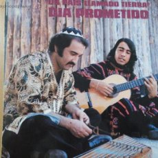 Discos de vinilo: UN DIA PROMETIDO UN PAIS LLAMADO TIERRA LP SPAIN 1973. Lote 53816467
