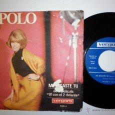 Discos de vinilo: ENCARNITA POLO- DE LA PELICULA 07 CON EL 2 DELANTE 1965. Lote 53817886