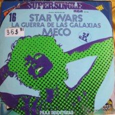 Discos de vinilo: MAXI - MECO - STAR WARS (LA GUERRA DE LAS GALAXIAS) (PROMO ESPAÑOL, RCA RECORDS 1977). Lote 53819376