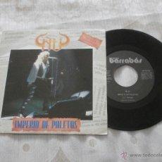 Discos de vinilo: ÑU 7´SG IMPERIO DE PALETOS + QUE NADIE ESCAPE A LA EVOLUCION (1992) SELLO BARRABAS-NUEVO A ESTRENAR. Lote 53821173